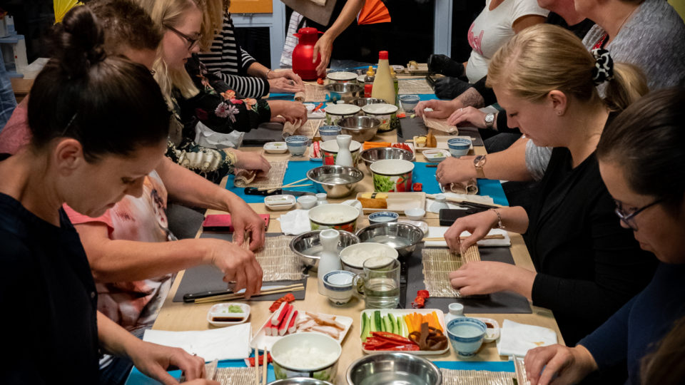 Sushi Workshop (English)